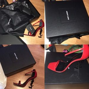 Ysl red size 9.5 heels
